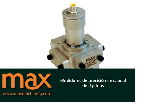 medidores de caudal max machinery